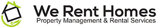 The We Rent Homes Logo